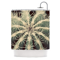 "Angie Turner ""Cactus"" Plant Shower Curtain"