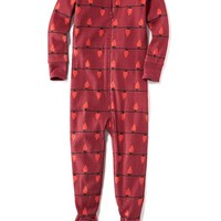 Old Navy Patterned Footed Sleeper For Baby