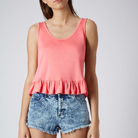Viscose Frill Top