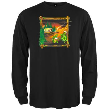 Grateful Dead - Covered Wagon Black Long Sleeve