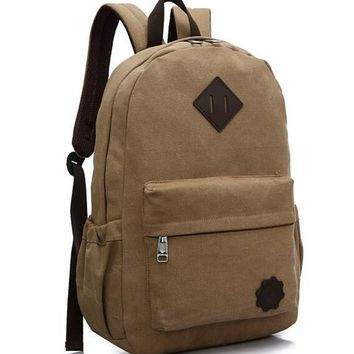ETN BAG hot sale good quality men canvas backpack male fashion travel bag man casual travel backpacks student school bags