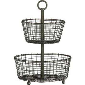 Two-Tier Basket