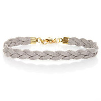 Made to Braid Grey Bracelet