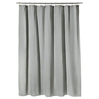 Threshold™ Chevron Shower Curtain - Gray