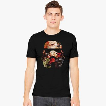 Floral Print Stormtrooper Men's T-shirt | Customon.com