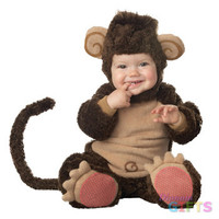Baby Boy's Costume: Lil Monkey Lil Character 6-12 Months