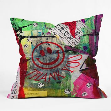 Sophia Buddenhagen Bright Bingo 1 Throw Pillow