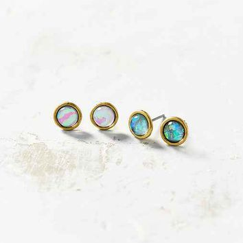 Bubble Burst Mini Post Earring