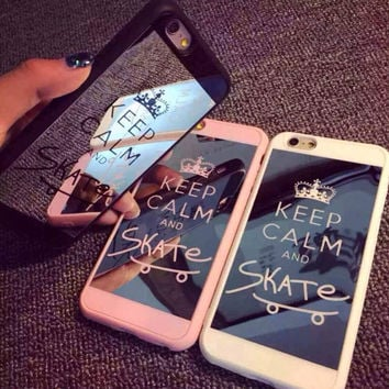 Crown Couple Phone Case Silicone Mirror [6034153985]
