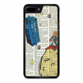 The Little Prince With Tardis iPhone 8 Plus Case