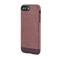 Textured Snap for iPhone 7 Plus Heather Deep Red