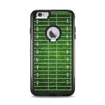 The Green Turf Football Field Apple iPhone 6 Plus Otterbox Commuter Case Skin Set