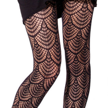 Flapper Hosiery | Black Milk Clothing