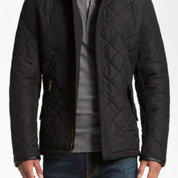Men's Barbour 'Powell' Regular Fit Quilted Jacket,