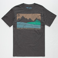 HIPPYTREE Boundary Mens T-Shirt | Graphic Tees