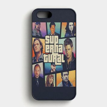 Supernatural Glass Break iPhone SE Case