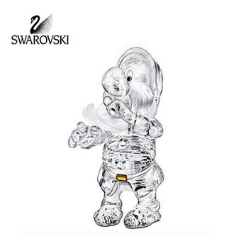 Swarovski Crystal Disney Figurine SNEEZY Dwarf Snow White Collection #1011835