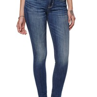 Bullhead Black Pac Medium Low Rise Skinniest Jeans - Womens Jeans - Blue -