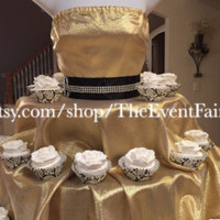 The Couture Cupcake Stand by theEventFairy on Etsy