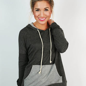 Winter Park Hoodie in Charcoal
