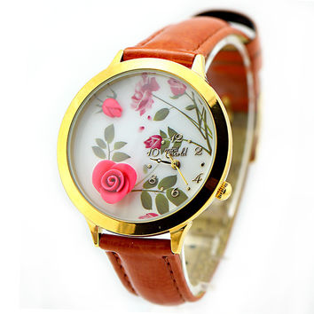 Polymer Clay Handmade Mini Watch