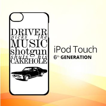Supernatural Z0198 iPod Touch 6 Case