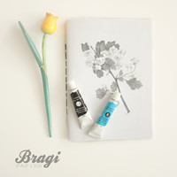 Plants Journal *  Flowers Notebook * Diary * Constructive Writing * Gift * Blank Notebook * Botanical * Botany * Garden Diary * Tree Cahier