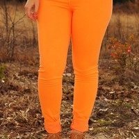 Sippin' On Summer Jeans: Tangerine - What's New