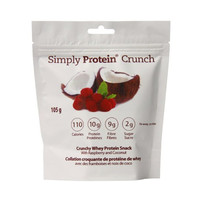 Simply Protein Crunch Raspberry Coconut 3.7 Oz Bags - Pack of 6