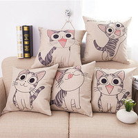 Cat Decorative Throw Pillow