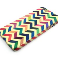 Sky2light,beautiful Iphone 6 Case,color Iphone 6 Cover,vivid Chevron Iphone 6,art 4.7 Inch Iphone 6 Case