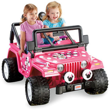 Walmart: Fisher-Price Power Wheels Girls' Disney Minnie Mouse Jeep 12-Volt Battery-Powered Ride-On