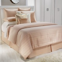 Jennifer Lopez bedding collection Ember Glow 4-pc. Comforter Set - Cal. King (Orange)