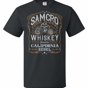 Sons of Anarchy Samcro Whiskey Unisex T-Shirt