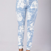 Icing on the Cake Jeans - Light Blue