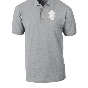 dipper pines white Bucket Hat, - Polo Shirt