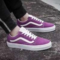VANS Old Skool Men and women skateboard shoes casual shoes I