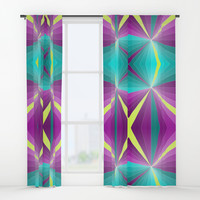 Rays abstract Window Curtains by edrawings38