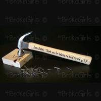 Father's Day Hammer - Building Lives - Building Memories - Hammer - Dad - Papa - Pawpaw - Poppy - Personalized Hammer for Dad-Gift to Dad