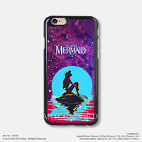 Little Mermaid Disney Movie Poster iPhone Case Black Hard case 795