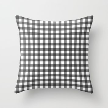 #42 Squares Throw Pillow by Minimalist Forms