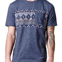 On The Byas Cort Jacquard Crew T-Shirt at PacSun.com