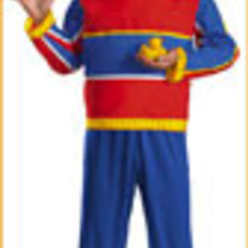 Sesame Street Ernie Costume Tween/Teen/Adult