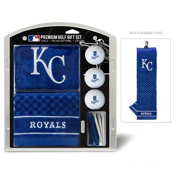 Kansas City Royals Golf Gift Set with Embroidered Towel