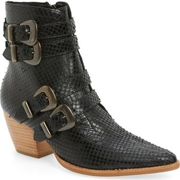 Coconuts by Matisse 'Harvey' Embossed Buckle Boot (Women) | Nordstrom