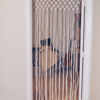 Macrame Door Curtain || Boho decor | Teen gift | Teen Bedroom Decor | Teen Christmas idea | Bedroom Decor | Macrame wall hanging | Wedding