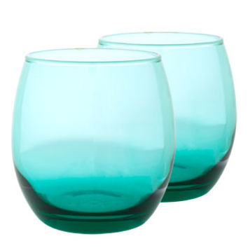 Bulk Epure Aqua Round Stemless Wine Glasses, 11.5 oz. at DollarTree.com