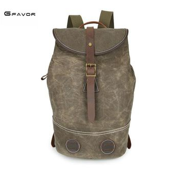 Student Backpack Children newest design Mountaineering Backpack Men Male student backpack weekend Mochila bag leisure shoulder bags canvas bag AT_49_3