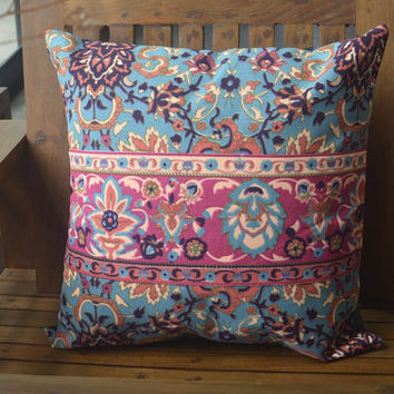 Pillow case, pillow covers, throw pillows, bed pillow case, decorative pillows, outdoor pillows, kilim pillow, Boho, pillow covers 16 x 16