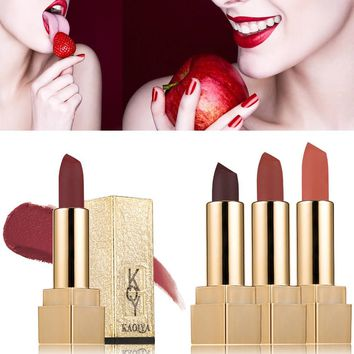 Waterproof Matt Lipstick Smooth Lips Stick Long Lasting Makeup